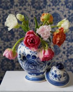 serie Delftsblauw stilleven